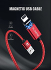 Fast Charging Phone Cable Micro USB,Type C or Lightning - Magnetic, Braided 1M
