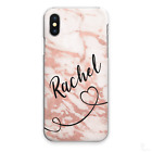 PERSONALISED INITIALS PHONE CASE MARBLE HARD COVER FOR SONY XPERIA L1 XA2 XZ3…..