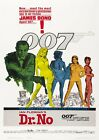 Dr. No (1962) Sean Connery - James Bond – Cinema Movie Poster – A4 A3 Art Print £8.85 GBP on eBay