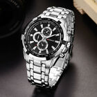 CURREN Mens Business Watches Stainless Steel Waterproof Quartz Wristwatch 8023 image