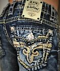 New Men's Rock Revival Scion Slim Bootcut 27 28 29 Regular Long on eBay