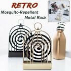 Bird & Leaf Iron Mosquito Coil Holder Incense Sandalwood Mosquito Repellent Coil