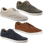 Base London Keel Shoes Mens Casual Suede Leather Lace Up Summer Espadrilles