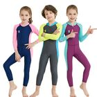 Kids Diving Suit Children Wetsuit One-Piece Long Sleeves Swimwear For Swimming