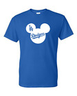 """Brand """"New"""" Los Angeles Dodgers Mickey Mouse Ears T-Shirt"""