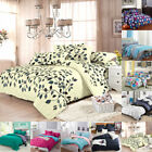 All Size Duvet with Pillow Case Quilts Covers Bedding Set Single Double King US image