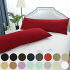 Set of 2 Body Pillow Cover Soft Microfiber Long Pillow Case for Body Pillows image
