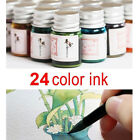 Kyпить 5ML 24 Colors Ink Fountain Dip Pen Calligraphy Writing Painting Graffiti Sightly на еВаy.соm