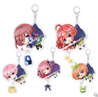The Quintessential Quintuplets Nakano Miku Keychain Acrylic Key Ring Cos Gift