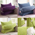 Adjustable Wedge Back Pillow Rest Sleep Neck Home Sofa Bed Lumbar Office Cushion image