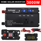 2000W - 5000W Portable Car LED Power Inverter WATT DC 12V to AC 110V Converter