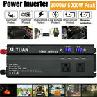 2000W - 5000W Pocket Car LED Power Inverter WATT DC 12V to AC 110V Converter