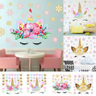 Fairy Unicorn Star Heart Wall Sticker Removable Girl Kid Art Nursery Room Decor