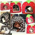 Soft Pet Dog Cats Bed House Kennel Doggy Puppy Warm Cushion Basket Pad Mat S-XL