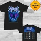 Ghost The Ultimate Tour Named Death 2019 T-Shirt Size Men Black Gildan Tee Shirt image