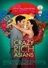 Crazy Rich Asians 2018 Jon M. Chu, Constance Wu - Movie Cinema Poster Art