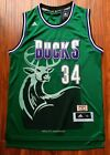 Ray Allen 34 Milwaukee Bucks 1996 97 Rookie Throwback Jersey