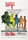 Dr. No 1962 Sean Connery, Ursula Andress, Bernard Lee Reproduction Movie Poster £4.45 GBP on eBay