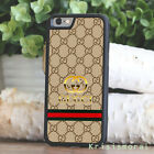 Cover Gucci219Gold Pattern iPhone 7 8 X XR XS Max Plus Samsung S9 S10 Plus Case