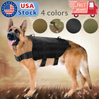 Tactical K9 Hunting Military Police  Dog Vest Nylon Service Canine Harness