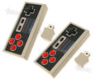 1/2 Replacement Wireless Controller Handle for Classic Nintendo NES Game Retro