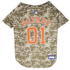 Houston Astros MLB Dog Pet Camo Hunting Jersey (all sizes)