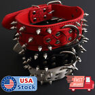 Kyпить  Spiked Studded Rivet PU Leather Pit Bull Dog Collar BLACK L XL FOR LARGE BREEDS на еВаy.соm