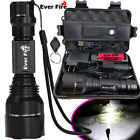 Tactical Military 150000LM T6 LED Flashlight 18650 Torch Work Light Headlamp