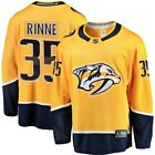 Nashville Predators Pekka Rinne Fanatics Branded Gold Breakaway Player Jersey