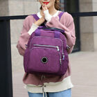 Grande Zaino Donna Ragazza Nylon Borsa Zainetto Casual Viaggi Backpack Bag Moda