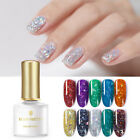 BORN PRETTY 6ml Star Moon Sequins Gel Holographic Bling Soak Off UV Gel Polish