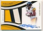 ANTONIO BROWN 2018 IMMACULATE COLLECTION PREMIUM AUTO 3 COLOR PATCH #05/10 $400+