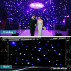 Kyпить IN US 20x10FT/3X2M LED Wedding Party Stage Curtain White Blue Star LED Backdrop  на еВаy.соm
