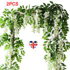 7ft Artificial Wisteria Vine Garland Plant Foliage Outdoor/home Trailing Flowerg