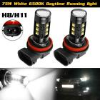 1Set H8 H9 15-3535 SMD 75W Daytime Running light LED Replacement H11 $16.99 USD on eBay