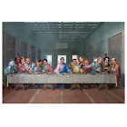 The Last Supper at Dunder Mifflin Canvas Print - The Office TV Show Art