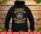 Mercedes slogan hoodie class /CLA/CLS/GLA/GLC/SLC Man's US T-shirt size S to 5XL image