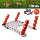 Sports Golf Speed Trap Base Alignment 4 Rods Swing Aid Hitting Practice Tools UK