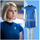 Star Trek Into Darkness Fleet Uhura  Blue Women Dress Cosplay Uniform Costume on eBay