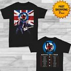 The Who t shirt Moving On Tour Dates 2019 T-Shirt  w side Men Size Black Gildan image