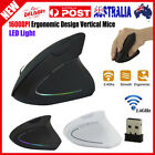 Wireless Mouse 2.4ghz Game Ergonomic Design Vertical Mouse 1600dpi Usb Mice