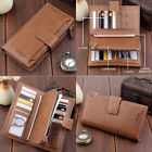 Fashion Lady Women Leather Clutch Wallet Long Card Holder Case Purse Handbag New image