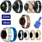 Stainless Steel Band Metal Strap For Samsung Galaxy Watch 42m 46mm / Active US image
