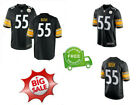 Devin Bush 55 Pittsburgh Steelers Stitched Jersey Brand New 2019 HOT M to 3XL