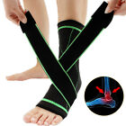Sports Pain Relief Compression Ankle Brace Support Stabilizer Foot Wrap Sleeve $8.69 USD on eBay
