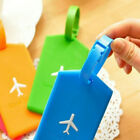 Kyпить 1X Luggage Bag Rubber Tag Name Address ID Label Travel Suitcase Baggage Tags New на еВаy.соm