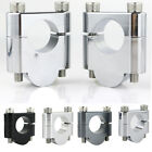 For Triumph TROPHY 1200 1992-1996 CNC Higher Handle Bar Clamps Mounting Risers $18.99 USD on eBay