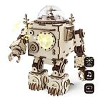 ROBOTIME 3D Wooden Puzzle Game Assembly Mechanical Model Building Toy Gift Adult