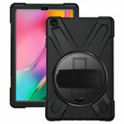 For Samsung Galaxy Tab A 10.1 SM-T510 T515 2019 Shockproof Rotating Stand Case