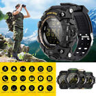 Waterproof EX16S Smart Sport Watch Bluetooth Pedometer Men Military Wristwatch image